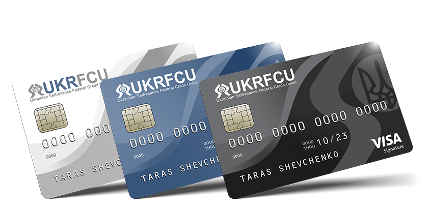 all cards VISA Credit Cards UKRFCU