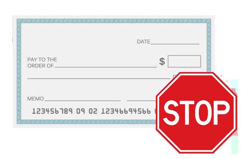 Stop Check Payment - Ukrainian Selfreliance Federal Credit Union