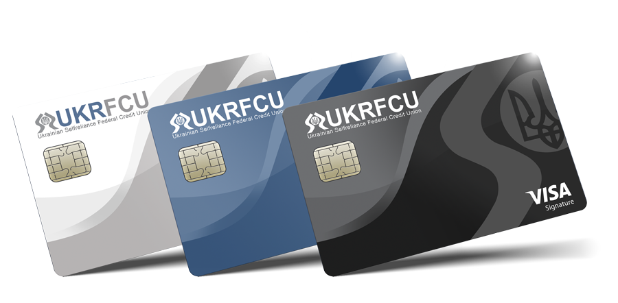 UKRFCU VISA Credit cards platinum rewards and signature