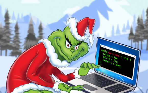 It's the most fraudulent time of the year: Don't let the Cyber Grinch hack your Christmas!