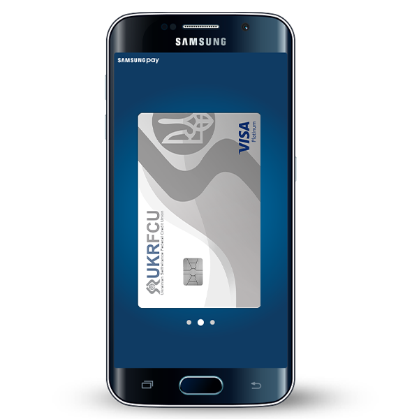 Digital Wallet example with UKRFCU Car with Samsung Pay